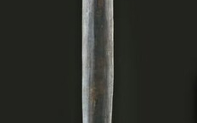 Early 20th C. PNG Boiken Palmwood Fighting Stick