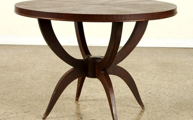 FRENCH MAHOGANY LOW TABLE MANNER ANDRE ARBUS 1950