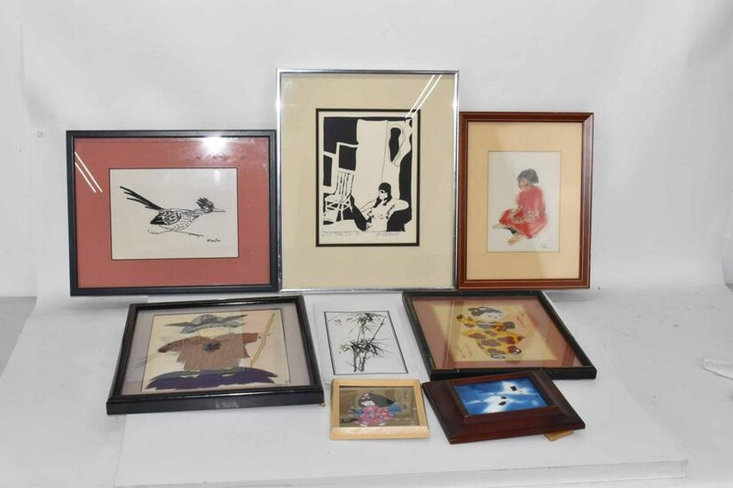 Group of Assorted Art Work