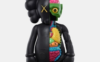 KAWS, FOUR FOOT DISSECTED COMPANION (Black)