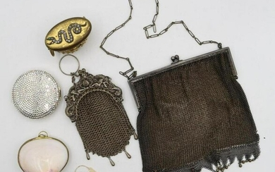 Mesh Purses and Compacts, Judith Lieber