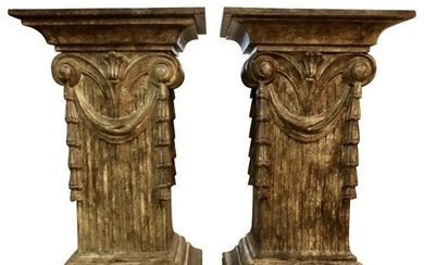 Pedestal Dining Table Bases Late-20th Century