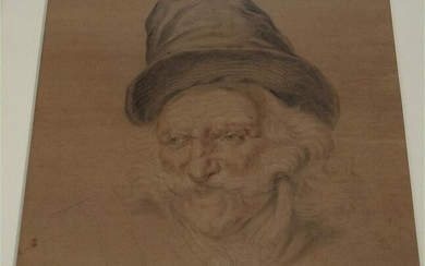 Pencil heightened with watercolour on brown paper by Hans Kerner 1900-1900 Germany FR3SH