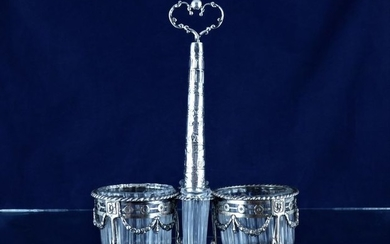 Salt cellar (1) - .833 silver - Van Straten - Netherlands - Early 20th century