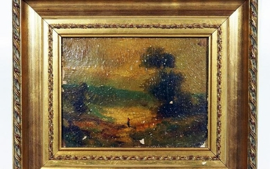Small French Landscape Painting
