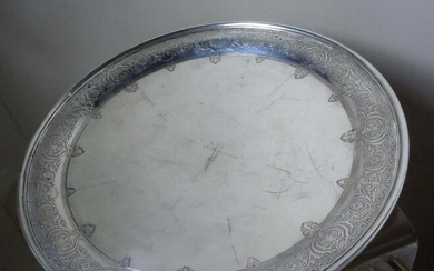 TIFFANY 18670C MAKERS 5291 STERLING SILVER PLATTER