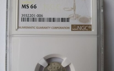 The Netherlands - 5 Cent 1827 NGC MS66 FDC - Silver