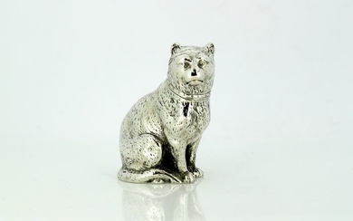 Victorian Salt / Pepper Shaker - .925 silver - Edward H Stockwel, London - England - 1872