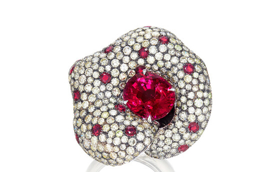 Margherita Burgener, A Rubellite, Diamond and Ruby Ring, Margherita Burgener