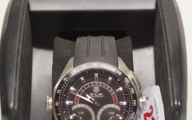A Tag Heuer SLR Calibre S stainless steel electro-mechanical...