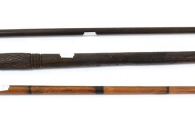 An Early 19th Century French Bamboo Sword Stick, the 76.5cm...