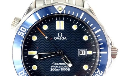 An Omega Seamaster professional wristwatch, waterproof to a ...