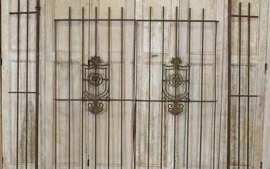 Cast and Wrought Iron Entry Gates