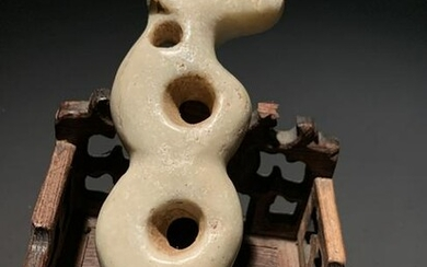 Chinese Hongshan Culture Carving of Dog