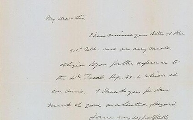 Daniel Webster Autograph Letter Signed
