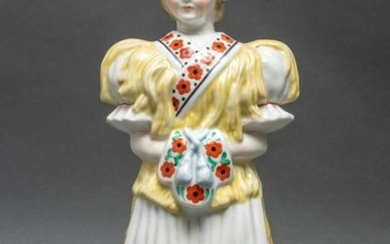 Herend Porcelain Hungarian Bride Figurine