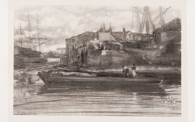 James Abbott McNeill Whistler (1834-1903) Limehouse