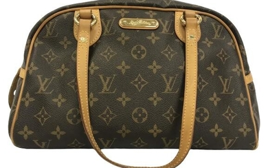 LOUIS VUITTON MONTORGUEIL SHOULDER BAG