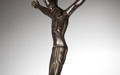 MAKONDE, Tanzania/Mozambique. Remarkable Christ on the cross with...