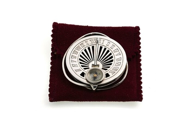 Mappin & Webb Money Clip with Compass, Sundial