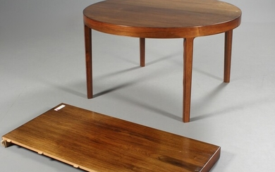 Ole Wanscher. Round dining table, rosewood