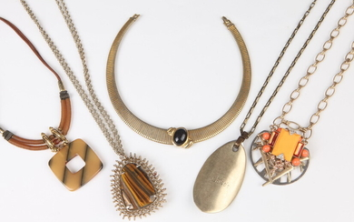 SELECTION OF COSTUME JEWELRY BY VARIOUS DESIGNERS: MONET, BAUBLEBAR, KENDRA...