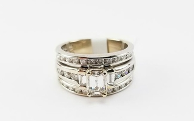 Shane & Co. Diamond & 14K White Gold Wedding Set