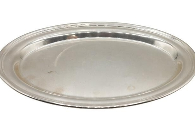 Sterling Silver Platter Approx 5 OZT