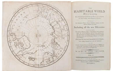 TRUSLER, John (1735–1820). The Habitable World
