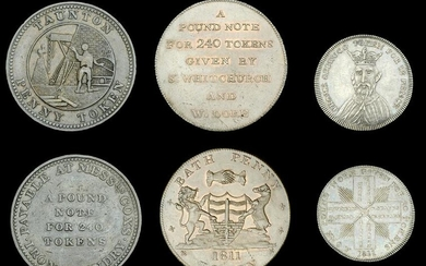 The Collection of British Tokens formed by John Rose