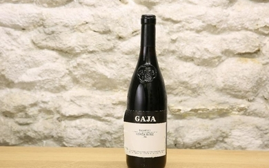 1 BOTTLE GAJA ESTATE COSTA RUSSI BARBARESCO VINTAGE