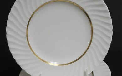 """12 Royal Worcester Luncheon """"Mayfair"""" Plates"""