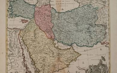 1792 Elwe Map of the Arabian Peninsula and Persia --