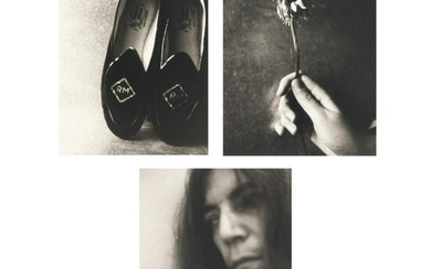 3 sheets: Robert's Slippers – Self Portrait NYC