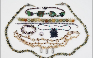 A Collection of Cultured Pearl Jewelry.