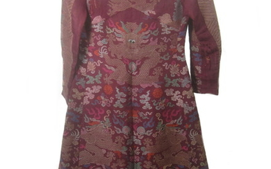 A re-modelled court robe