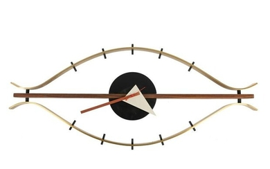 """After George Nelson - """"Eye"""" Wall Clock"""