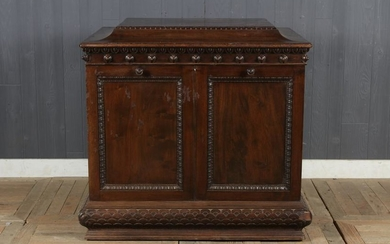 Antique Collector's Folio Cabinet Stand