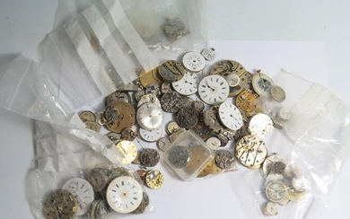 Approximately 100 Mechanical Watch Movements including Zenit...