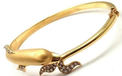 Authentic Carrera Y Carrera Dolphin 18k Yellow Gold