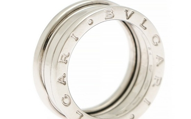 "Bulgari: A ""B.Zero1"" ring of 18k white gold. Size 54."
