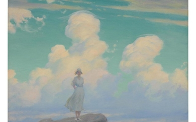 CHARLES COURTNEY CURRAN | THE VEILED CLOUD