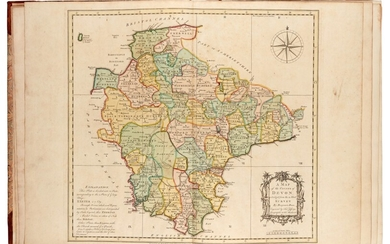 DONN | A map of the county of Devon, 1765