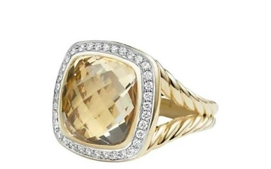 David Yurman Albion with Champagne Citrine and Diamonds