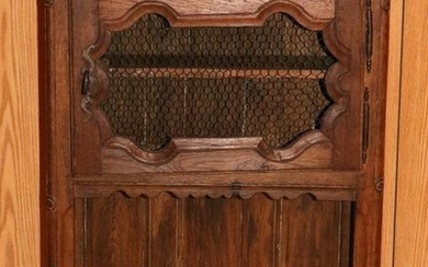 FRENCH COUNTRY OAK WALL SHELF, 18TH C