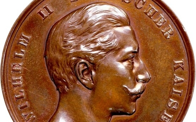 Germany, bronze medal, 1893, (Somer W95)