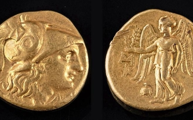 Greek Gold Alexander III Stater - 8.5 g