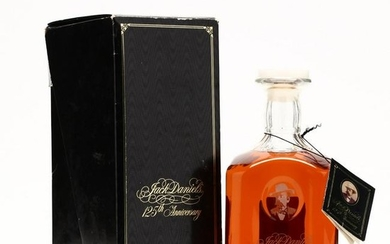 Jack Daniels 125th Anniversary Tennessee Whiskey