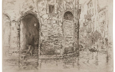 James Abbott McNeill Whistler (1834-1903) The Two Doorways