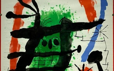 Joan Miro Posters (1893-1983). Expo 65 - Oeuvres